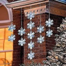 snowflake string of lights led snowflakes collection on ebay