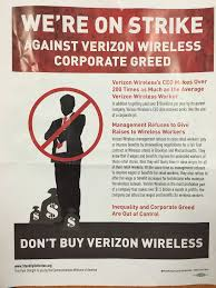 Verizon Wireless Customer Service Representative Salary Verizon Strikers Calling For Boycott Of Verizon Wireless Fortune Com