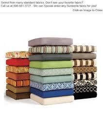 Ottoman Cushions Polywood Club Ottoman Cushions