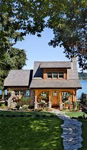 think small this cottage on the puget sound in washington is a