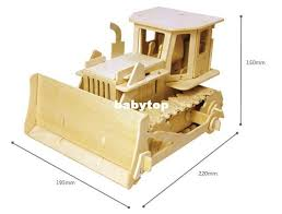 Build Big Wooden Toy Trucks by Robotime Educational Wooden Toys Assembled Remote Control Electric