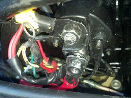 i have a 1996 mercury force 75hp and it is blowing fuses i took