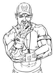 muscle coloring page kids coloring