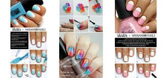 18 easy step by step summer nail art tutorials for beginners