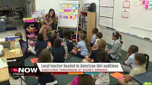 hillsborough co teacher auditioning for american idol in orlando