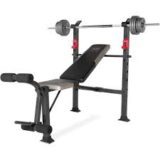 bench barbell set with bench power rack package deal kg olympic