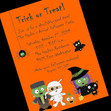 Kids Halloween Birthday Party Invitations by Halloween Party Invitation Vector Card Stock Vector Image Free