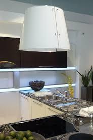 modern kitchen hoods appliances white modern glass hoods look like lamps above