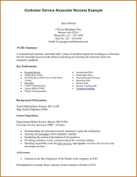 exle of customer service resume how to write a customer service resume guest sle objective