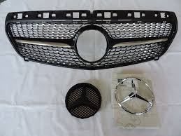 jeep grill logo vector front grill grille star badge fits mercedes benz w176 a class a180