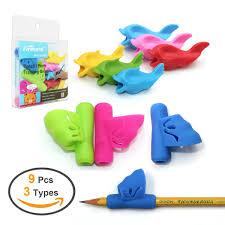 amazon com pencil grips for kids firesara new design ergonomic