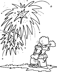 fourth july fireworks coloring pages getcoloringpages