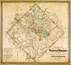Washington Dc Sites Map by How The Civil War Changed Washington