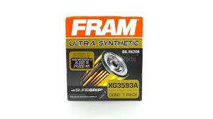 new fram ultra synthetic oil filter xg3593a for subaru honda mazda