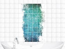 badezimmer fliesenaufkleber fliesensticker sticker fliesenaufkleber für badezimmer mosaik
