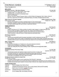 Resume Ongoing Education Private Equity Resume Template Wall Street Oasis