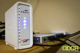 arris surfboard sb6141 lights arris surfboard sb6183 review cable modem custom pc review