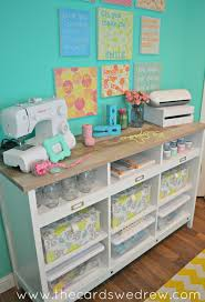 Craft Room Storage Furniture - craft room storage solutions with sauder the cards we drew