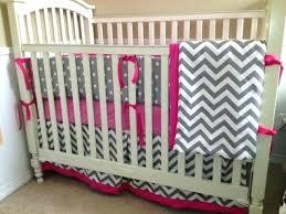 Gray Chevron Crib Bedding Chevron Nursery Bedding Pink And Gray Chevron Crib Bedding A Navy