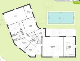 plan de maison 5 chambres plain pied plan maison plain pied