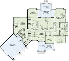 house plan cathedral ceiling plans vaulted bungalow beam floor