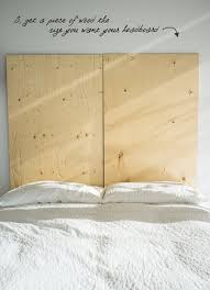 Modern Headboards Inspirational Making A Headboard Out Of Plywood 58 For Your Modern