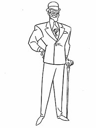 atman animated series colouring pages coloring