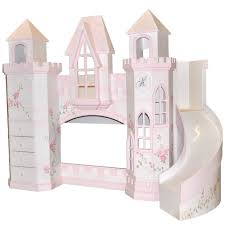 dollhouse bed with slide custom made girls doll house bed with