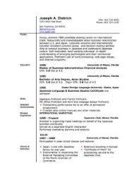 Microsoft Word Resume Sample Download Resume Microsoft Word Haadyaooverbayresort Com