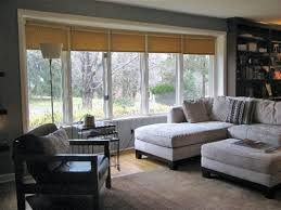 Simple Window Treatments For Large Windows Ideas Amazing Window Treatment For Large Living Room Window Images Home
