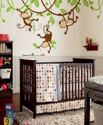 Monkey Decor For Nursery Monkey Bedroom Decor Monkeys Wall Decals Sticker Nursery Decor