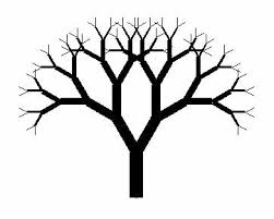 coloring page trendy tree drawing simple tree3 coloring page