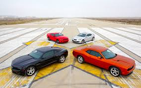 2011 chevrolet camaro vs 2011 dodge challenger vs 2011 ford