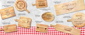 personalised cutting board personalised chopping boards