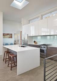 skylight clerestory windows back painted glass backsplash the