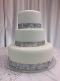 amazon com fake cake wedding cake real fondant with bling by