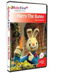 rabbit dvds harry the bunny dvds babyfirsttv