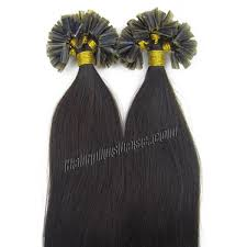 Keratin Tipped Hair Extensions by 18 Inch 1 Jet Black Stick Tip Human Hair Extensions 100s
