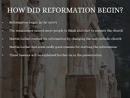 the protestant reformation by baguilar2120