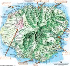 Rubicon Trail Map Inselhopping Auf Hawaii Highlights Der Insel Kauai