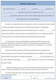 free business contract templates word report templates free simple