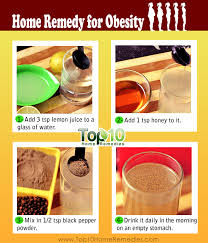 home remedies for obesity u0026 weight loss top 10 home remedies