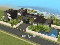 Modern Beach House Luxury Modern Beach House The Sims 2 Youtube