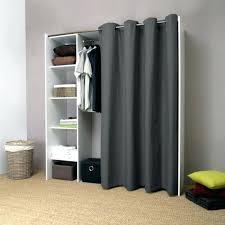 rideau placard chambre rideau pour armoire dressing pix dressing extensible anthracite