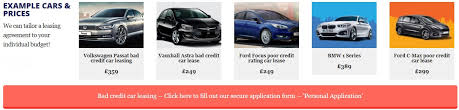 lease a bmw with bad credit bad credit car leasing poor credit non status car leasing