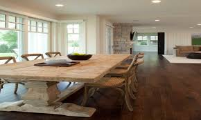 dark floor dining room what goes with dark wood floors