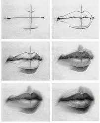 tutorial of drawing lips check it out if you u0027re having problems