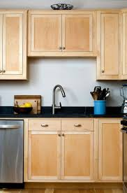 refinishing cheap kitchen cabinets backsplash blonde kitchen cabinets kitchen paint color white