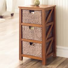 Wicker Storage Chest Of Drawers Sonoma Goods For Life 3 Drawer Cameron Storage Tower
