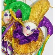 mardi gras jester dolls jester on stick